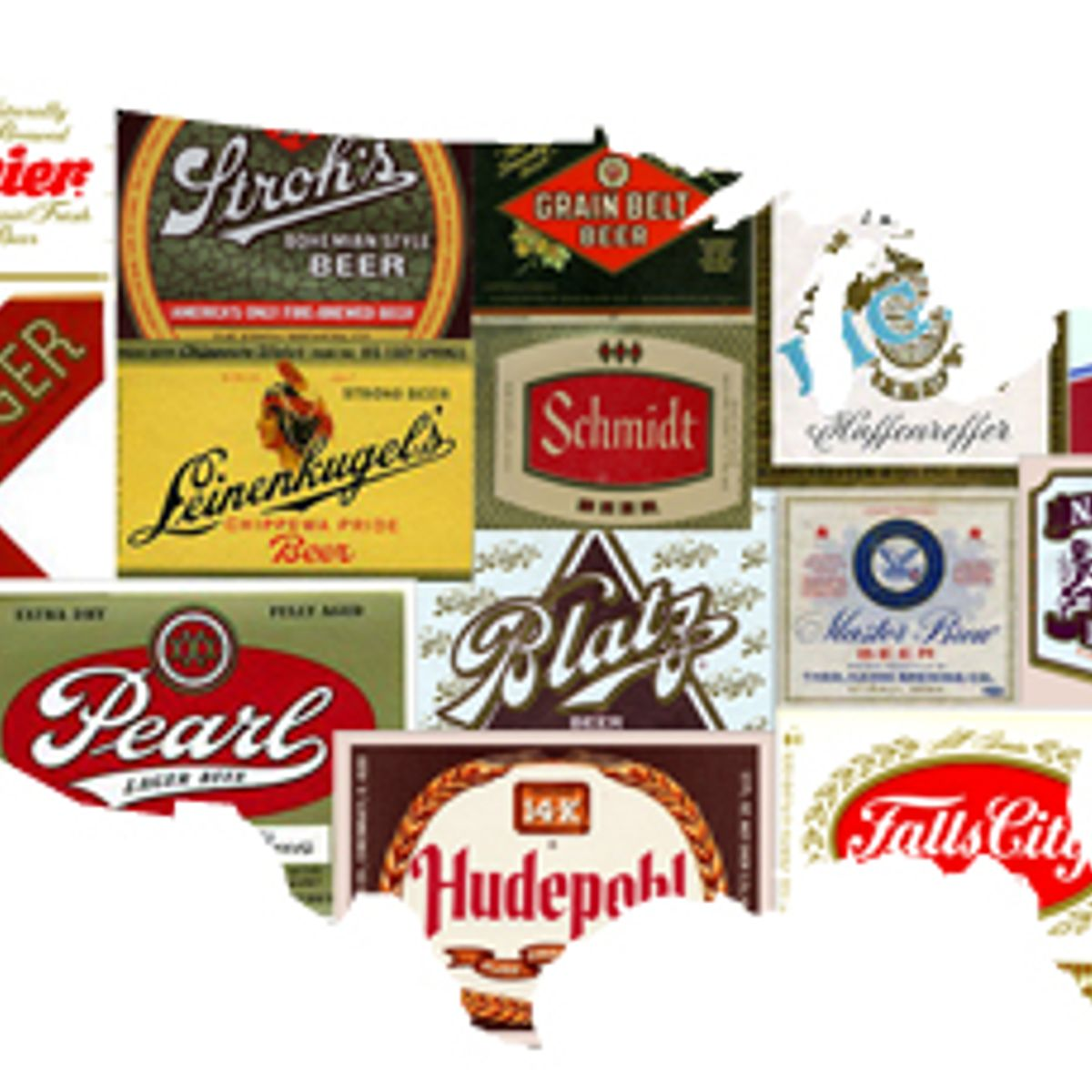 US Beer Labels Book PA Pennsylvania-