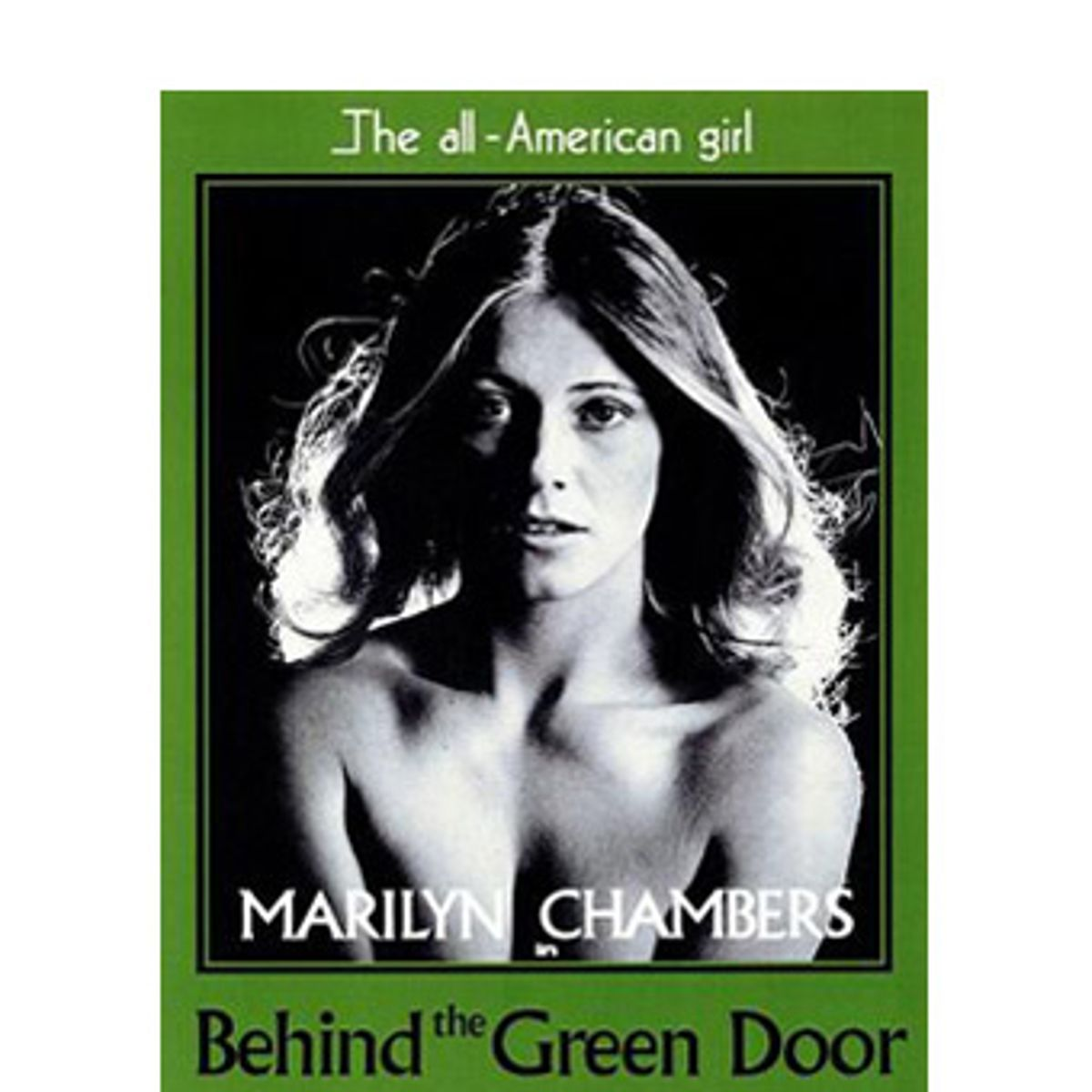 Baby Marilyn Porno remembering marilyn chambers   salon