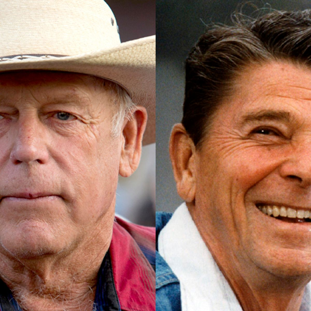 Ronald Reagan owns Cliven Bundy: He's born of GOP racial and anti-government hostility
