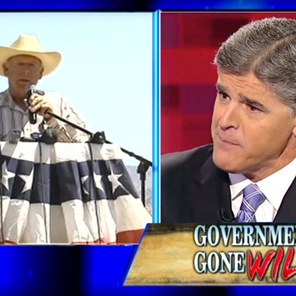 Fox News' new laughingstock: Cliven Bundy -- and Stephen Colbert -- will destroy Sean Hannity