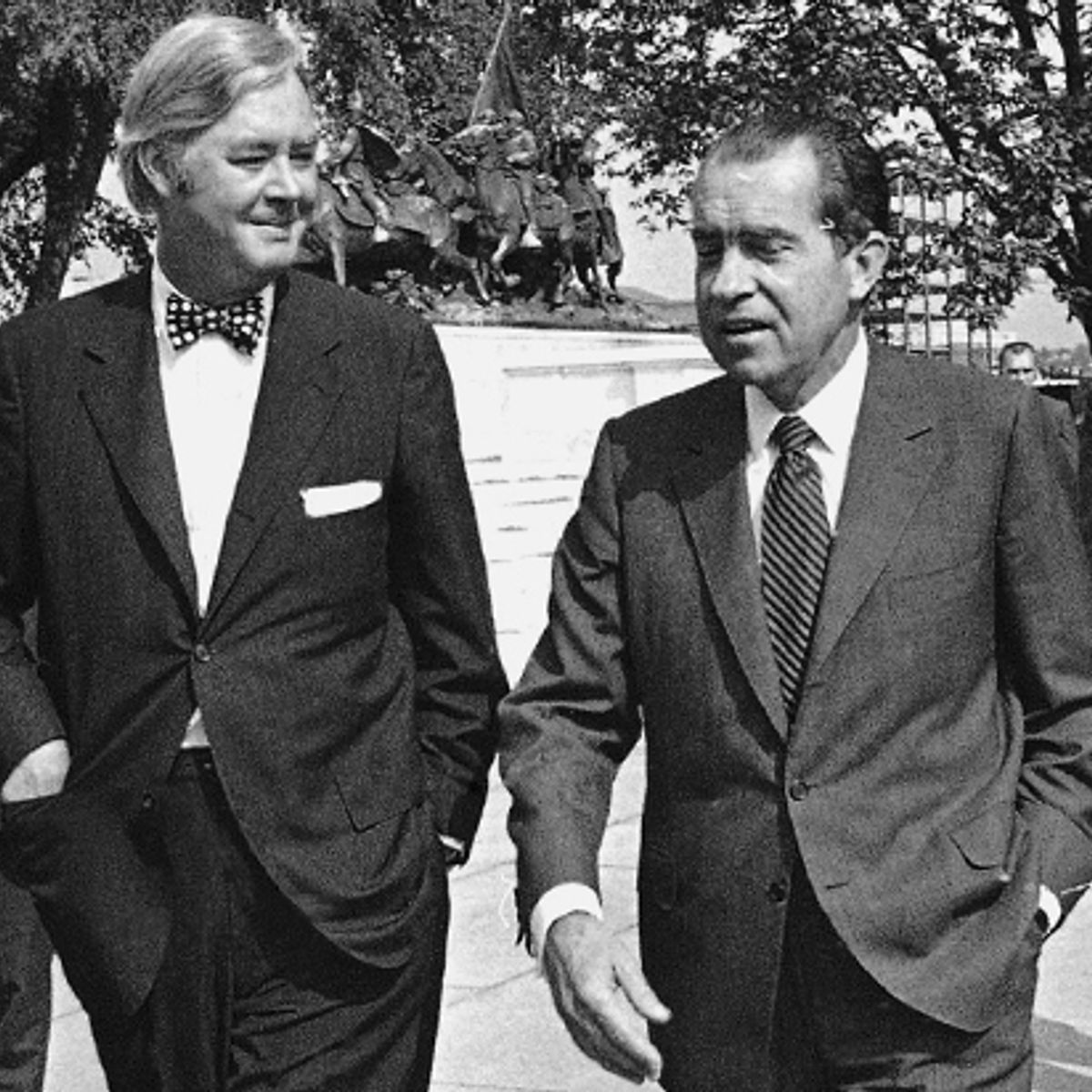 Richard Nixon's favorite liberal: Secrets of the strangest ...