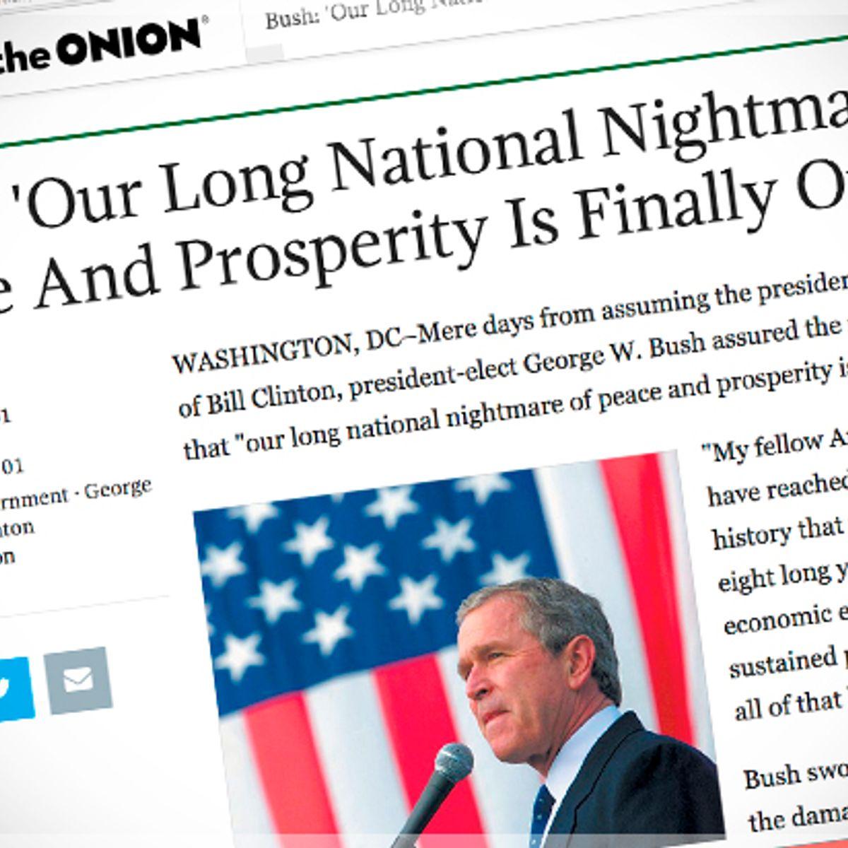 16 Times The Onion Masterfully Trolled American Politics Salon Com