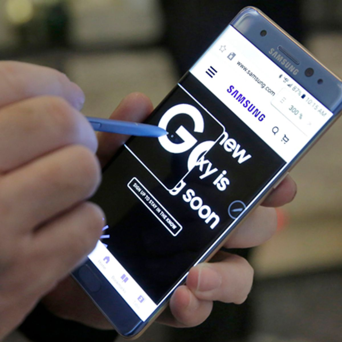 Batterie Samsung Galaxy Note 8