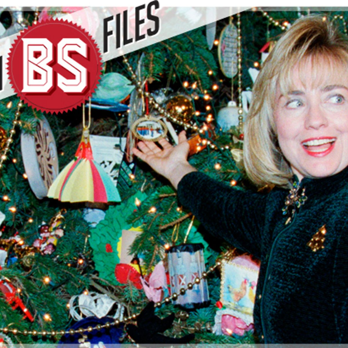 Hillary Clinton Christmas.The Clinton Bs Files Hillary Didn T Decorate The White