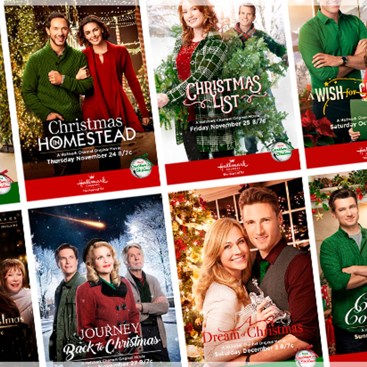 Christmas In Homestead Cast.A Super White Christmas The Hallmark Channel Gives Us Tv S