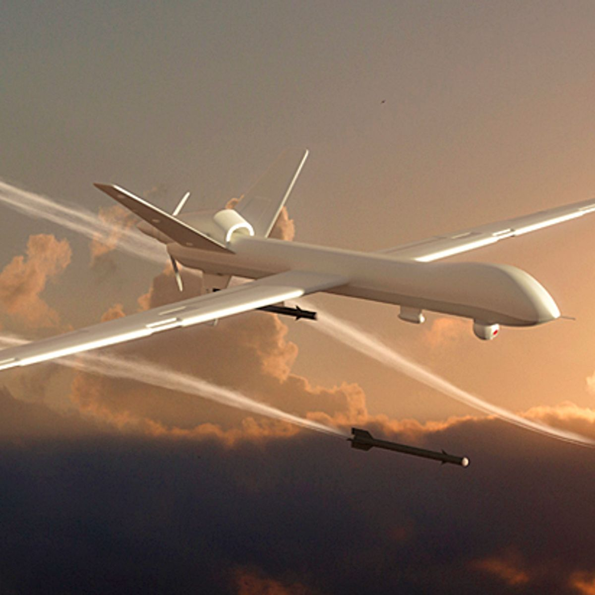 Large military-grade drones could soon be flying over your backyard