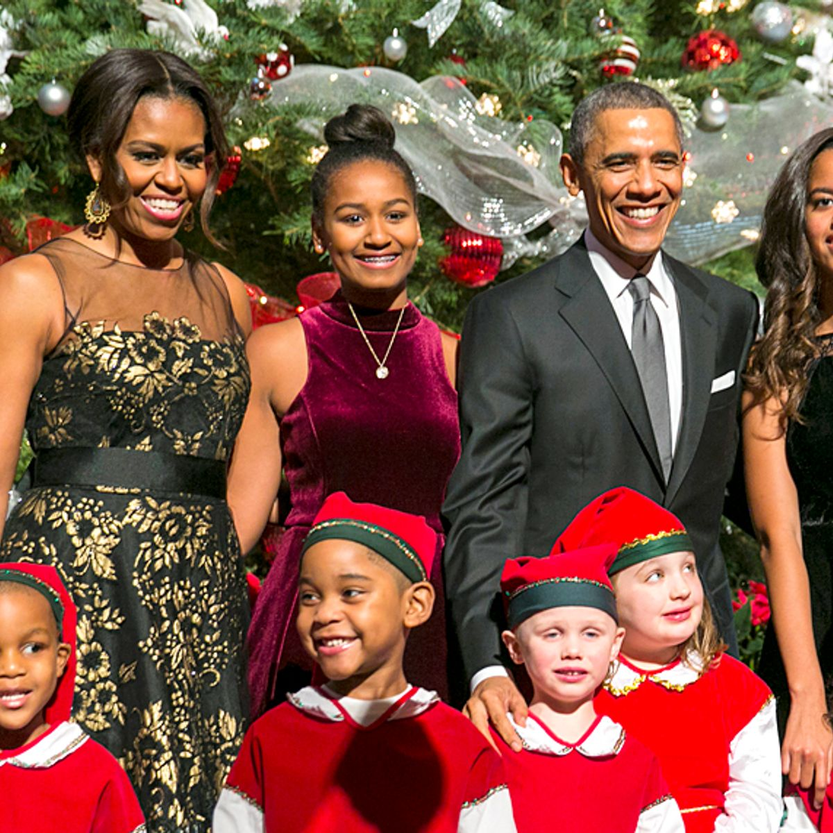 Obama Christmas.This Supercut Of Obama Saying Merry Christmas Might Just