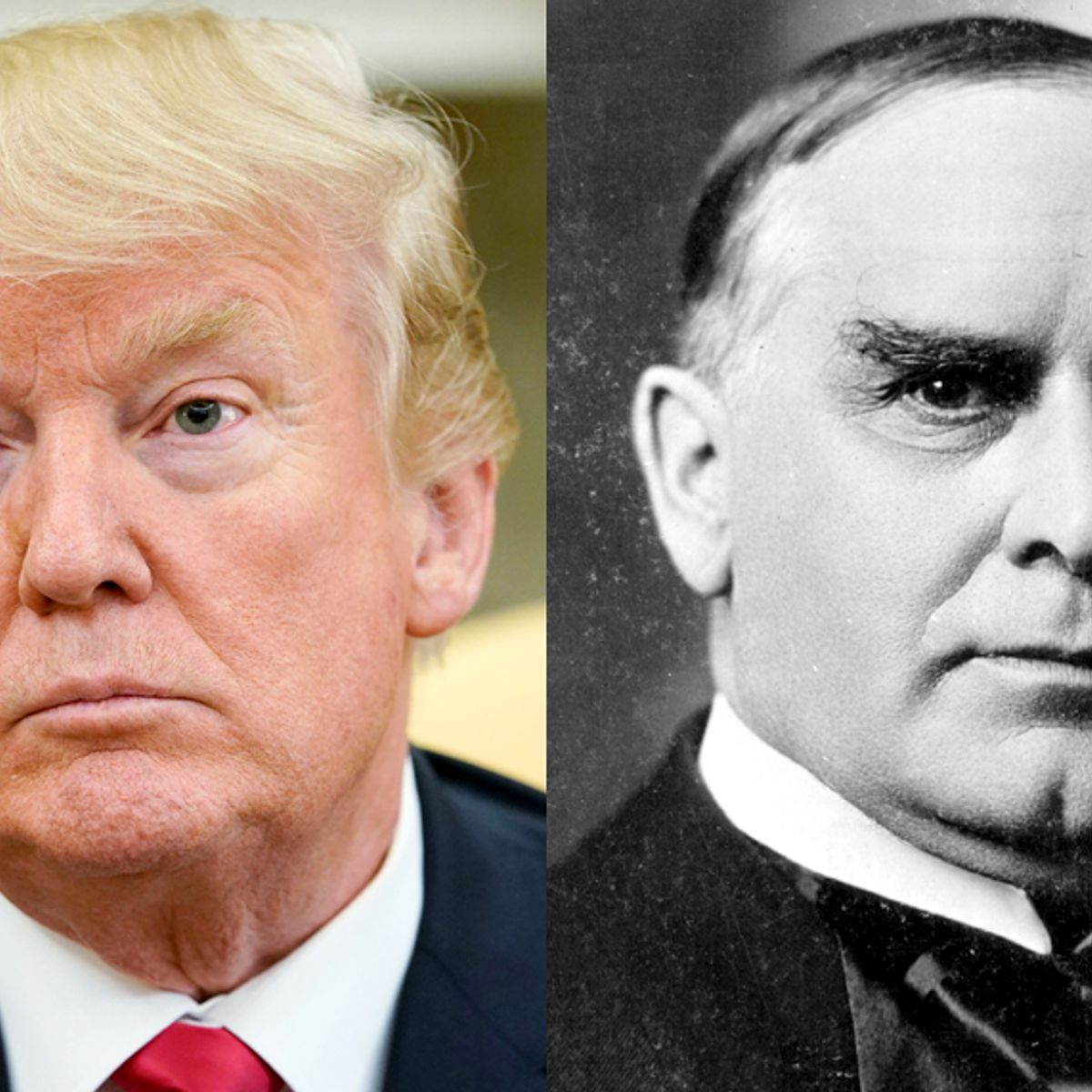 Image result for McKinley  is like Trump