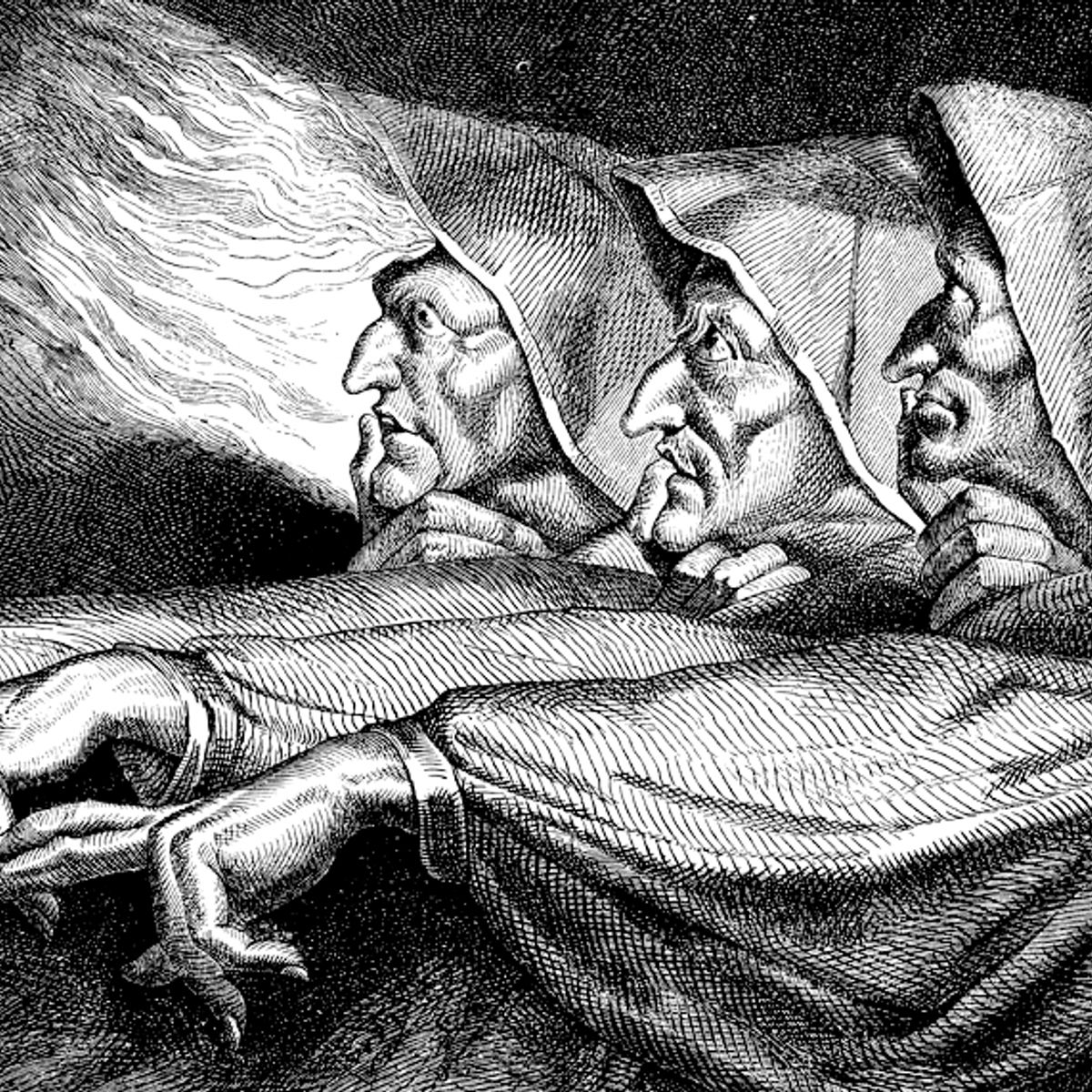 Most witches are women, because witch hunts were all about persecuting the powerless