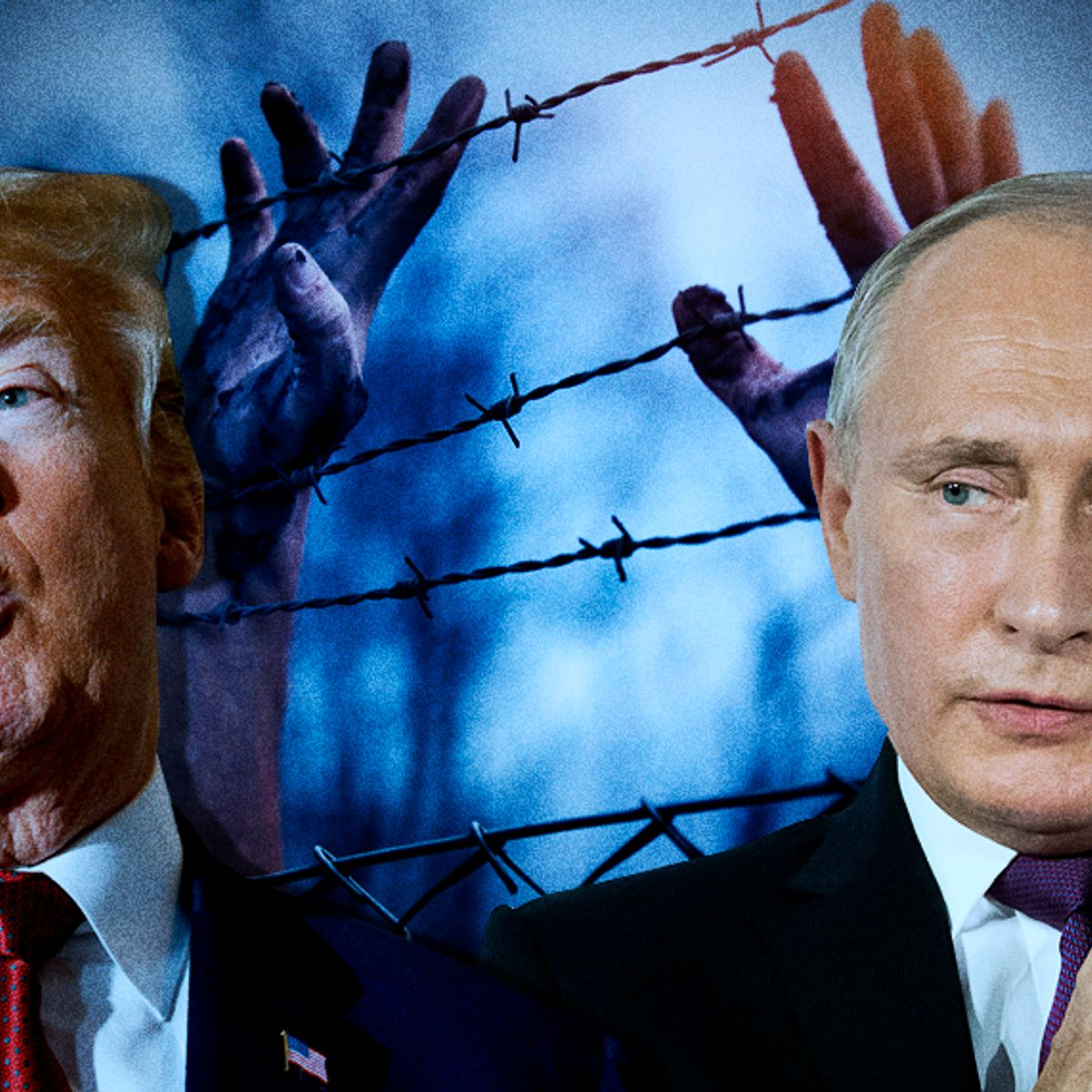 A New Axis Of Evil Donald Trump And Vladimir Putin Share An Open Contempt For Human Rights Salon Com