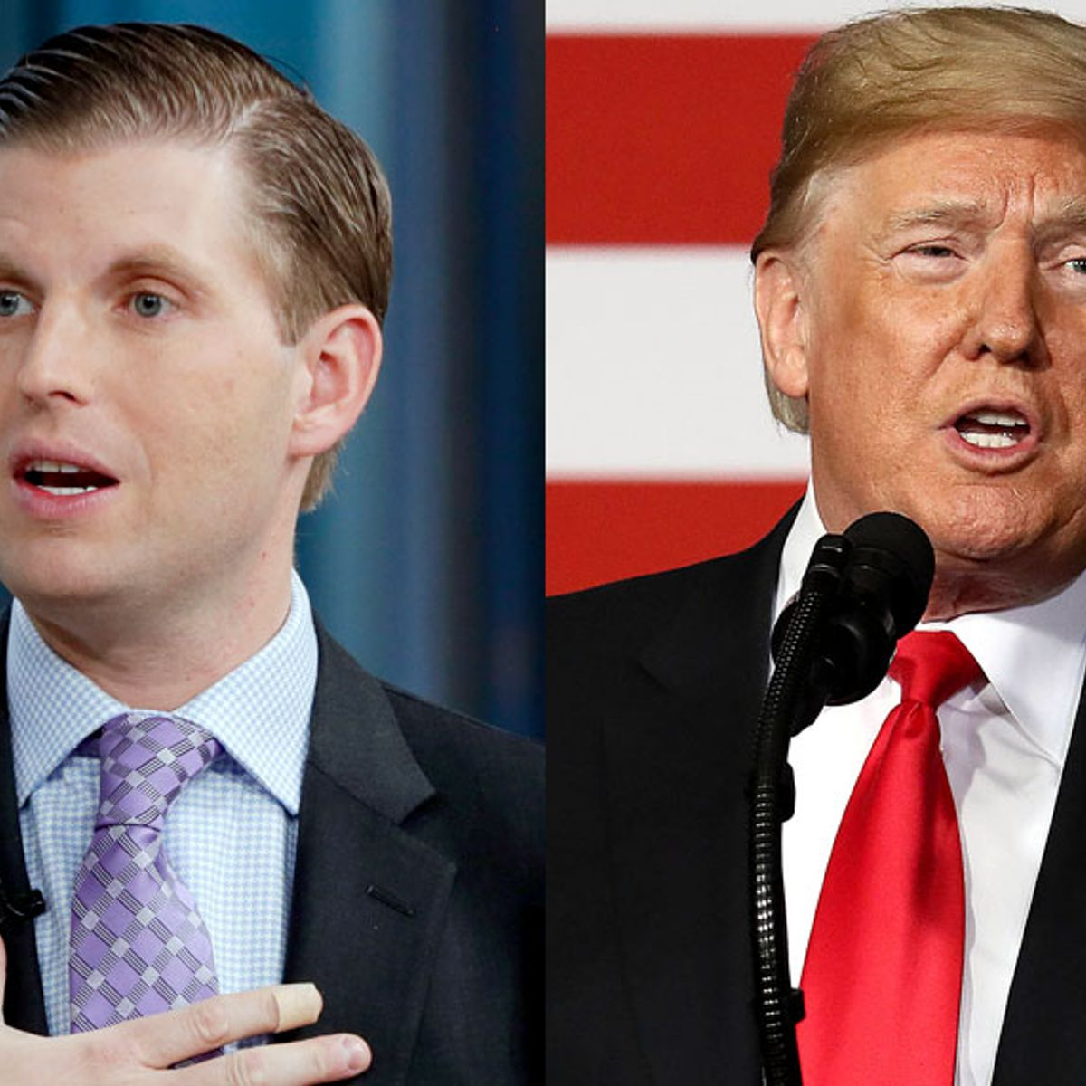 """While on Fox News, Eric Trump baselessly blames Obama for Ukraine scandal: """"It leads right to him"""""""