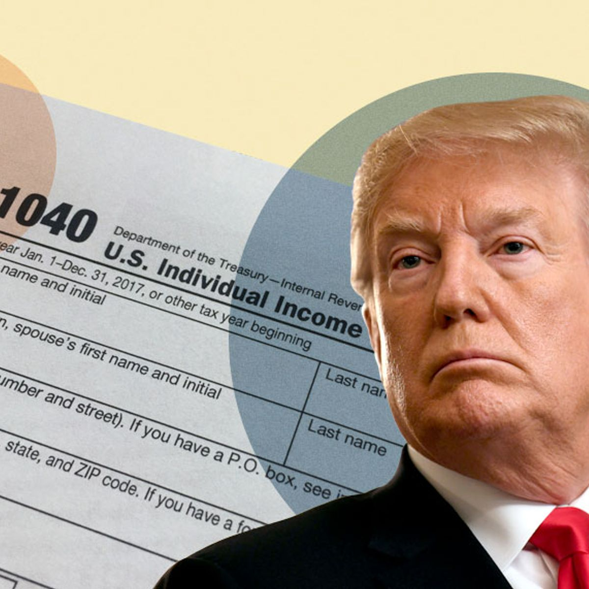 Never-before-seen Trump tax documents show major inconsistencies