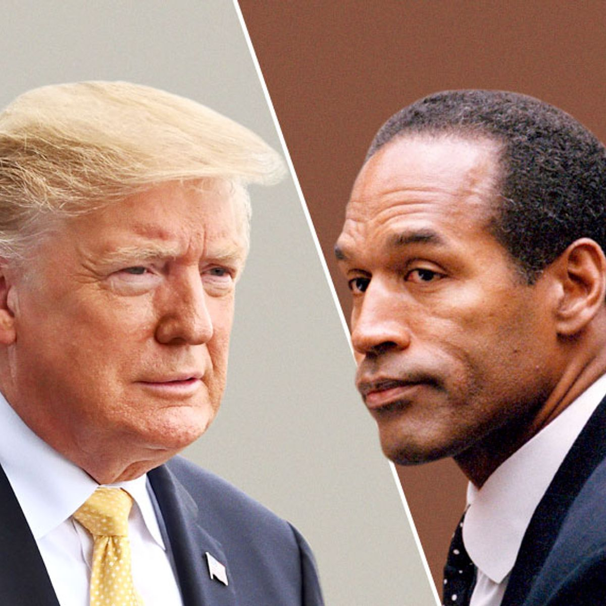 Image result for donald vs OJ Simpson