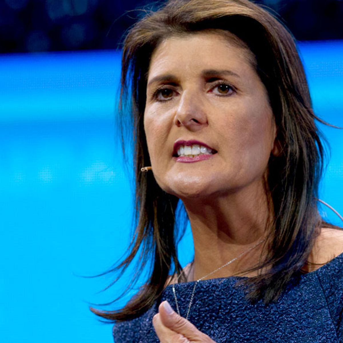 """Nikki Haley """"disqualified for national office"""" after Confederate flag remarks, """"View"""" co-hosts say"""