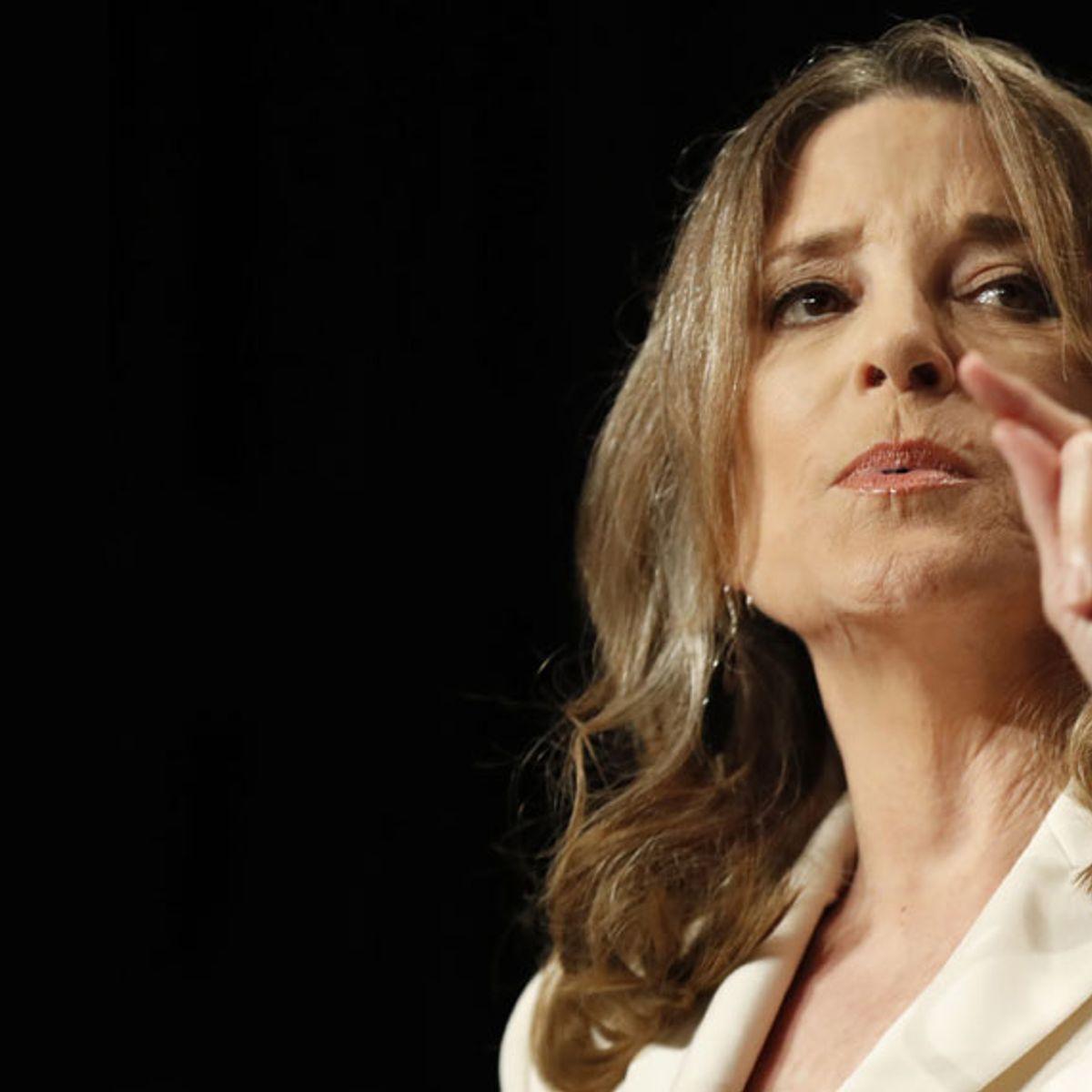 2020 Marianne Williamson For President Button