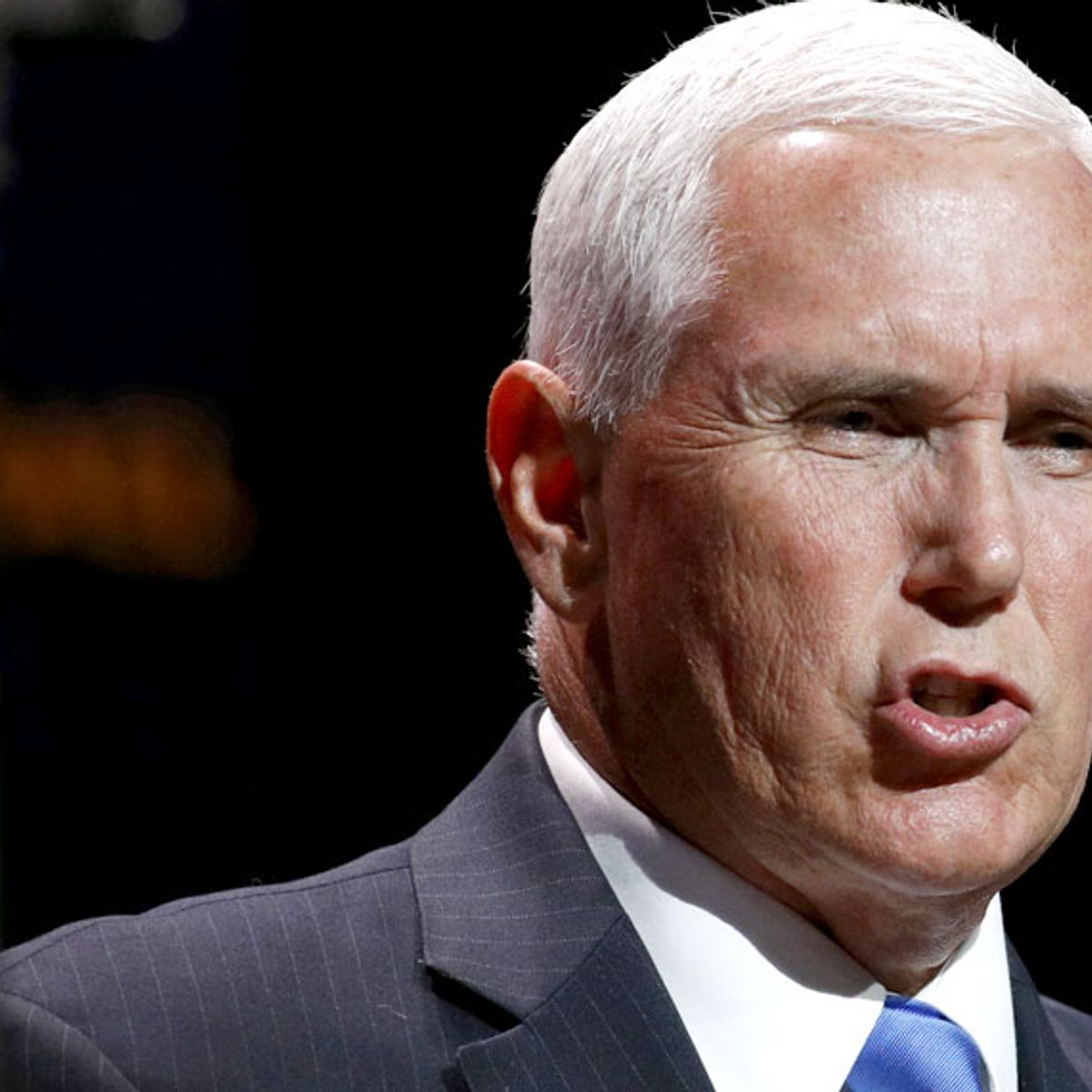 Vice President Mike Pence announce five-day ceasefire between Turkey and Kurish forces in Syria