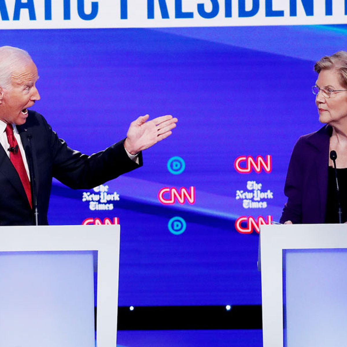 Democratic debate: Elizabeth Warren attacked by moderate rivals over wealth tax proposal
