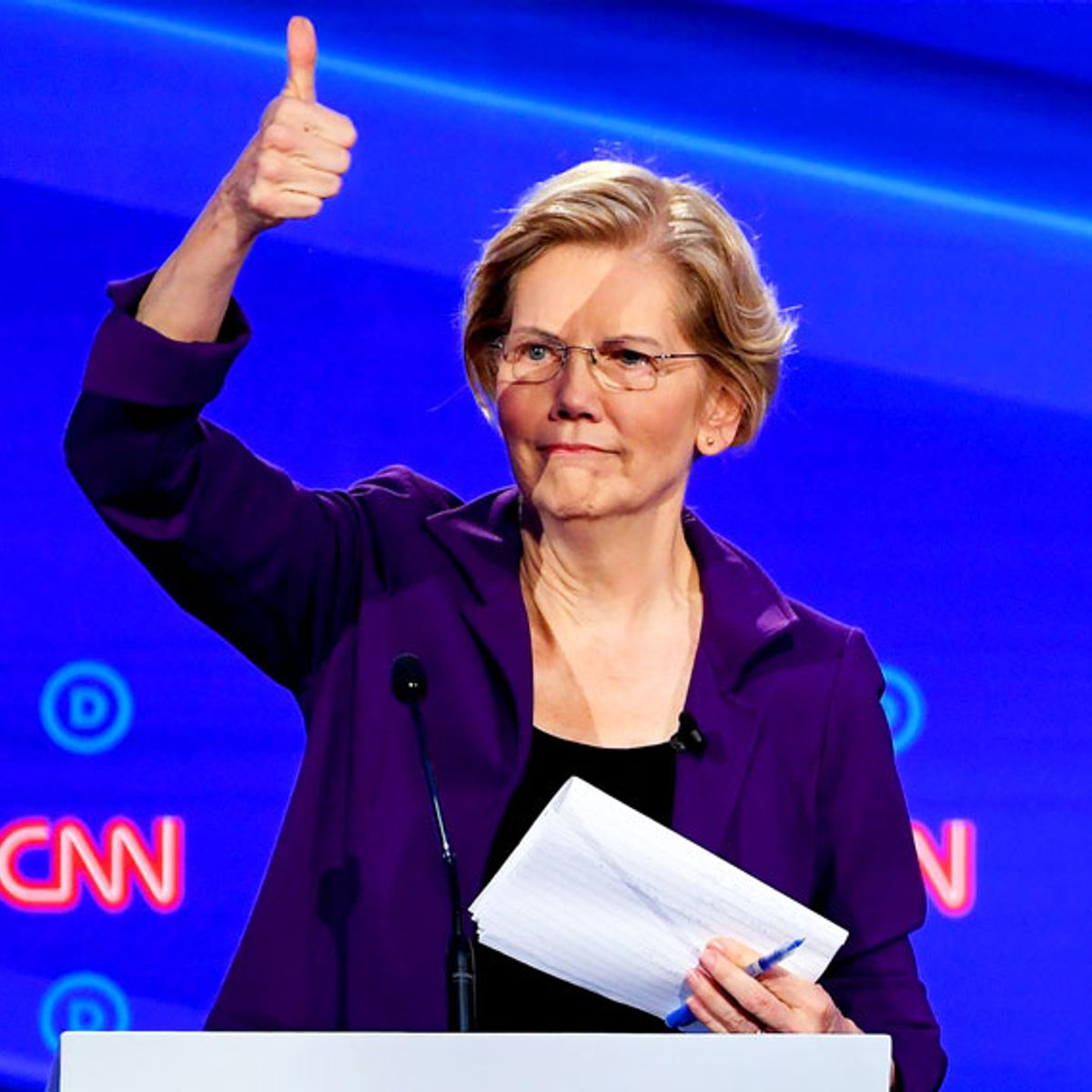 Questions for Elizabeth Warren: Now that you're the frontrunner, we need to talk