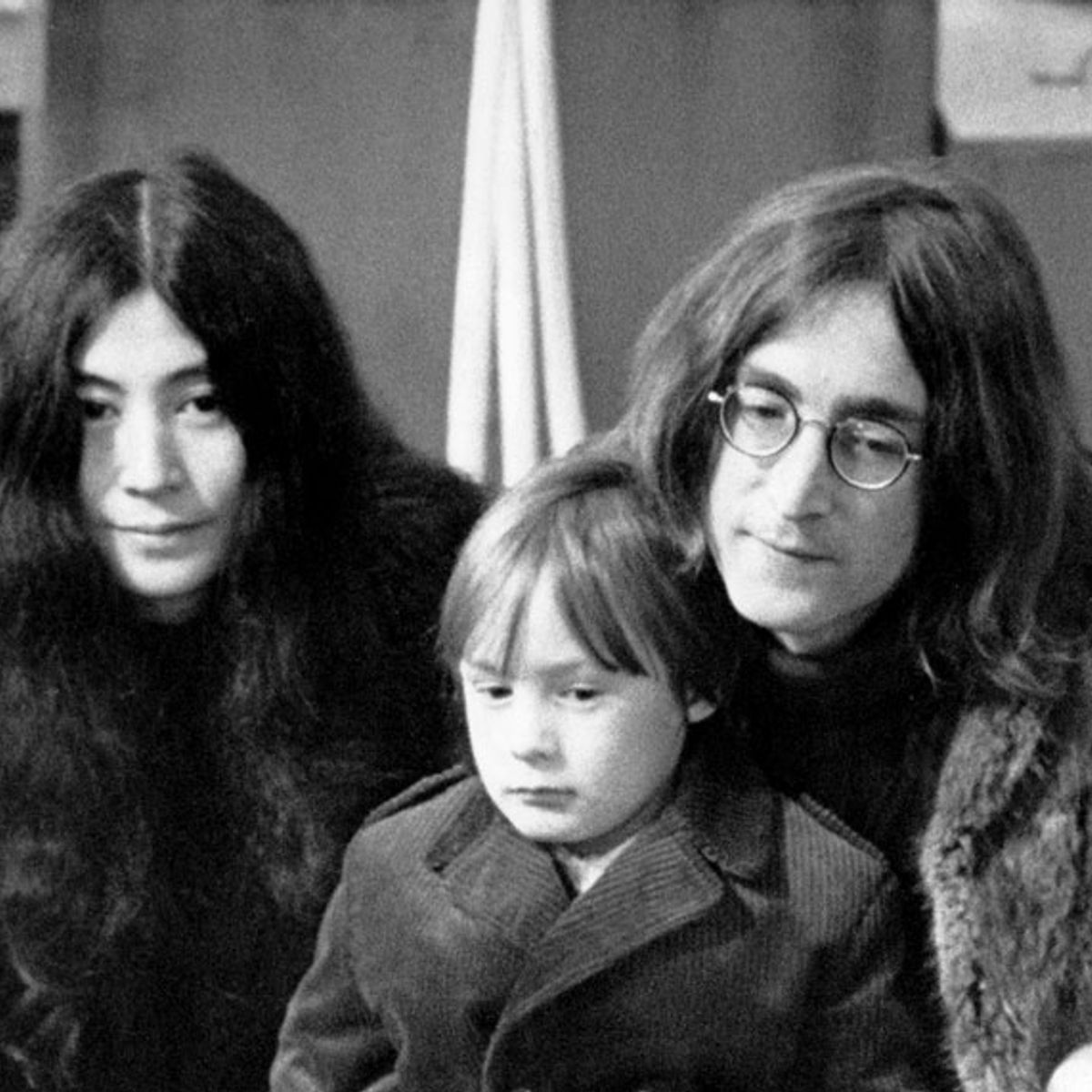 John Lennon at 39, in self-imposed exile