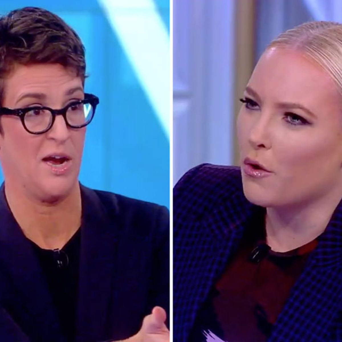 Maddow walks back right-wing conspiracy theories on Adam Schiff after Meghan McCain confronts her