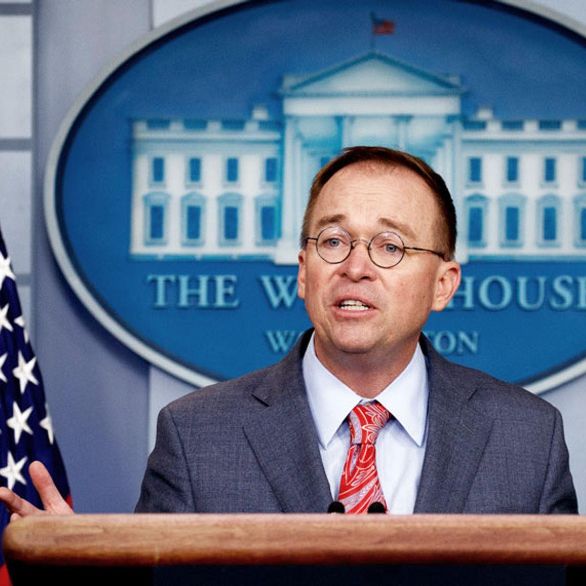 Mick Mulvaney undercuts Trump defense, admits Ukraine aid was blocked to force investigation
