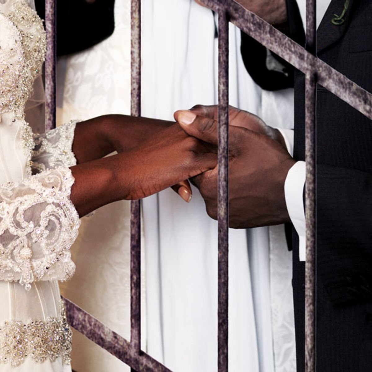 Desert bloom: My wedding day, inside a California prison