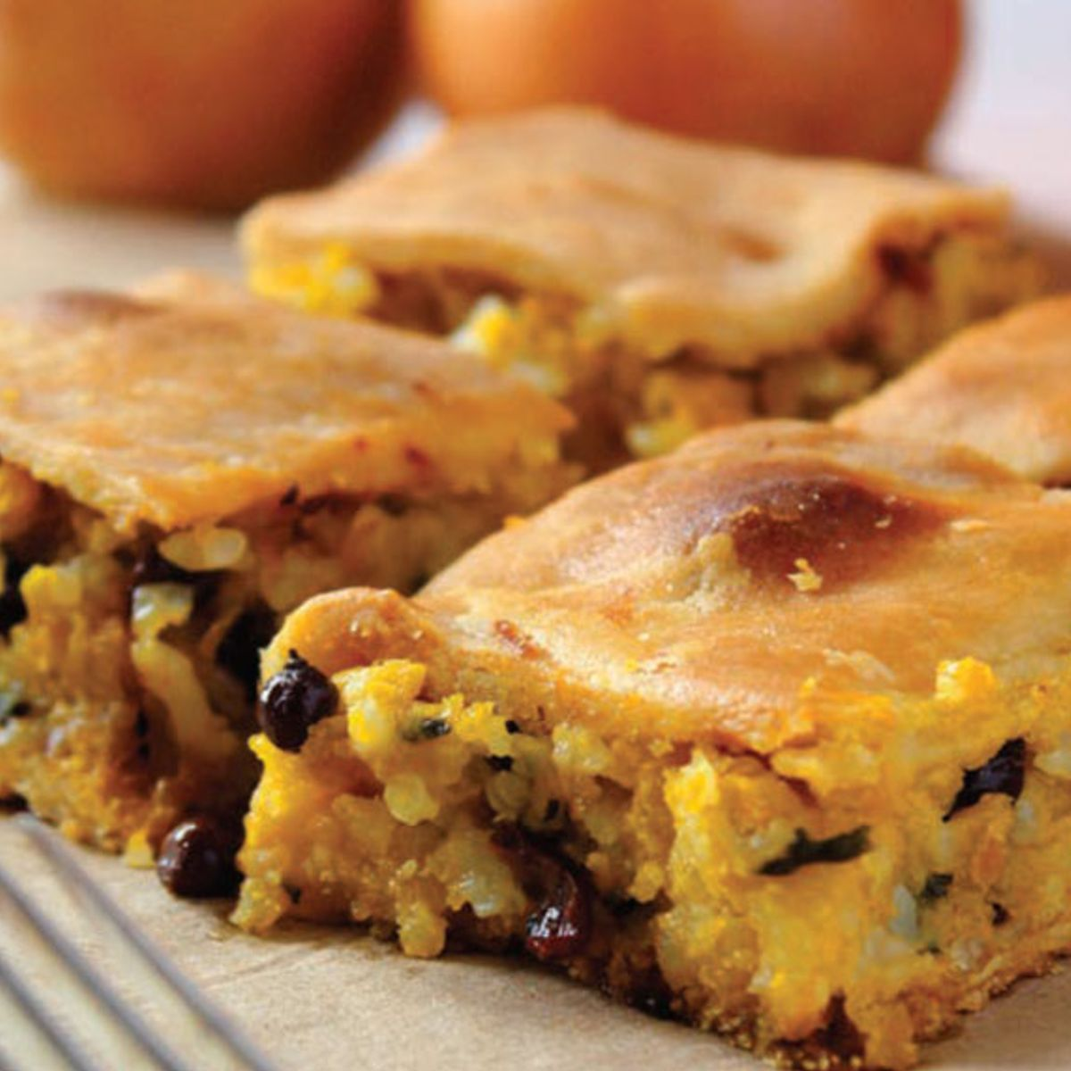 Greek pastry: Bake kolokythopita with pumpkin — not zucchini