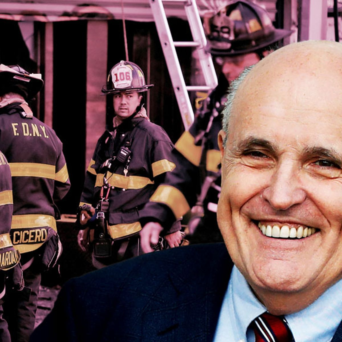 Giuliani was always a fraud. Just ask the FDNY