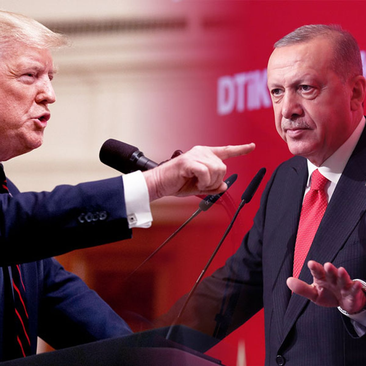 "Turkish president ""thoroughly rejected"" Trump's ""tough guy"" letter, threw it in trash"