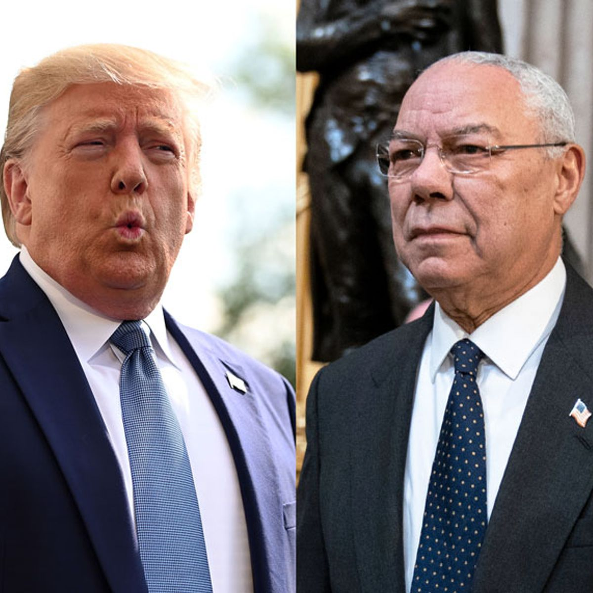 """Colin Powell calls out GOP in Trump era: """"The Republican Party has got to get a grip on itself"""""""