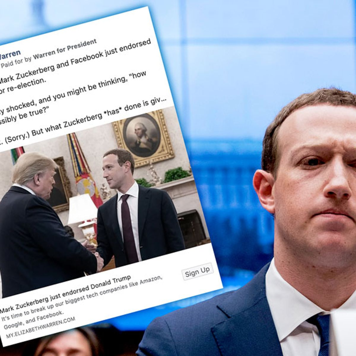Facebook's rationale for allowing lies in political ads makes no sense