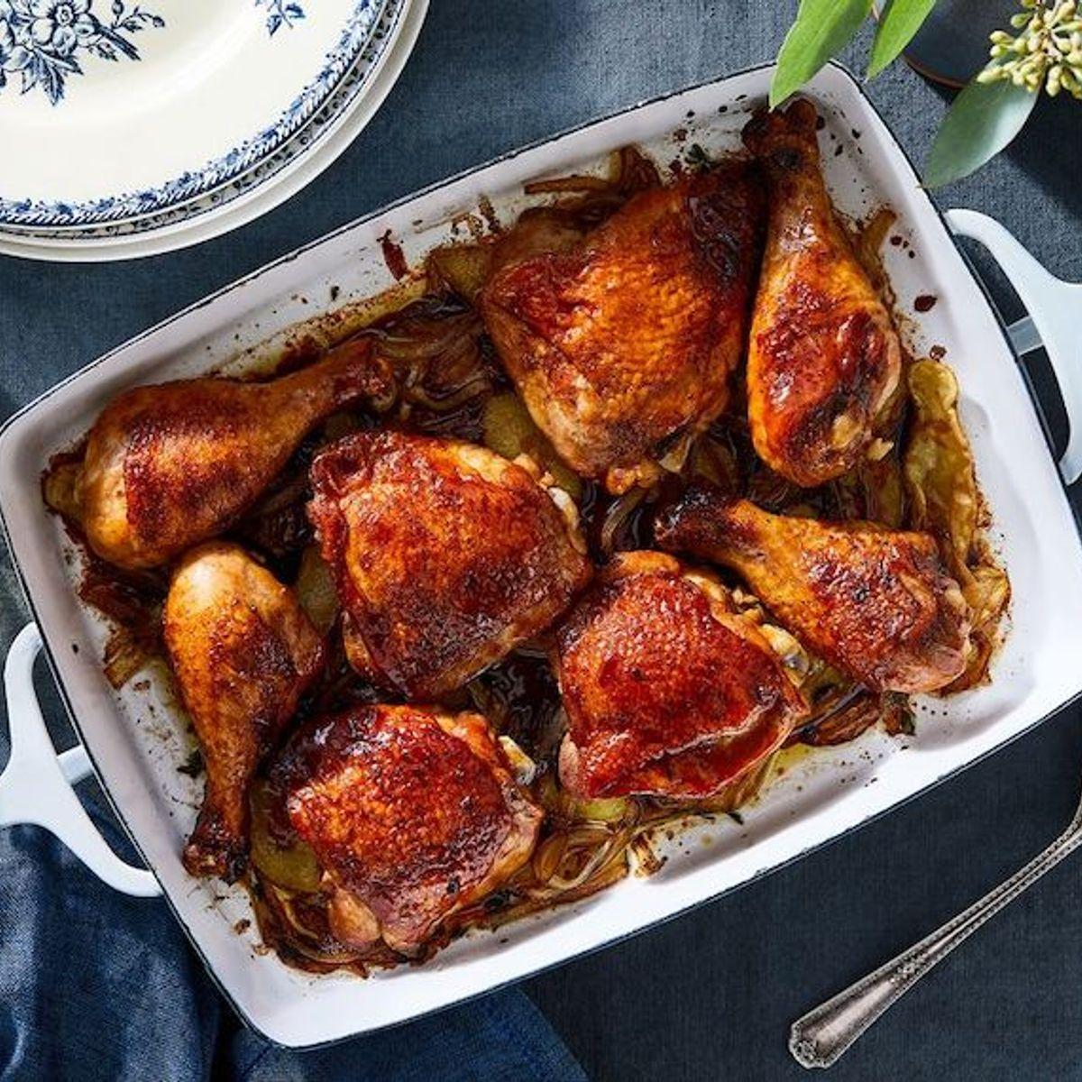 This British pantry staple reinvented my weeknight chicken