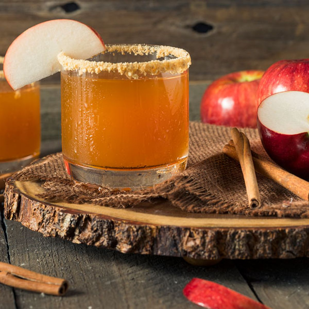 Here's how to add apple butter to your decadent holiday cocktails