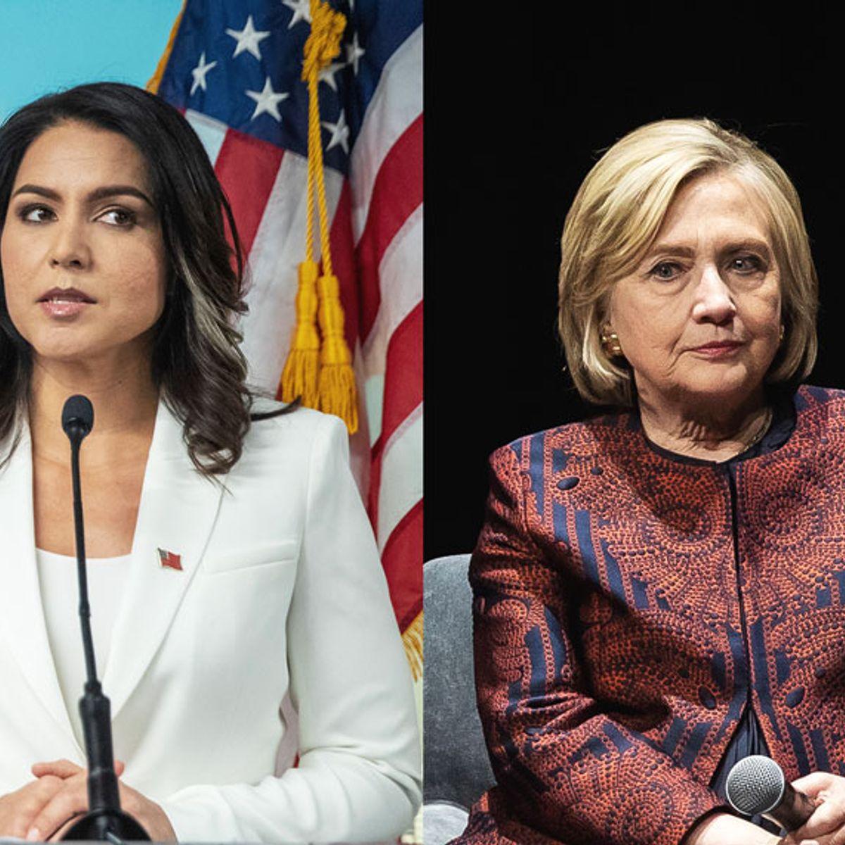 "Hillary Clinton ""is taking my life away,"" Tulsi Gabbard tells Fox News host Tucker Carlson"