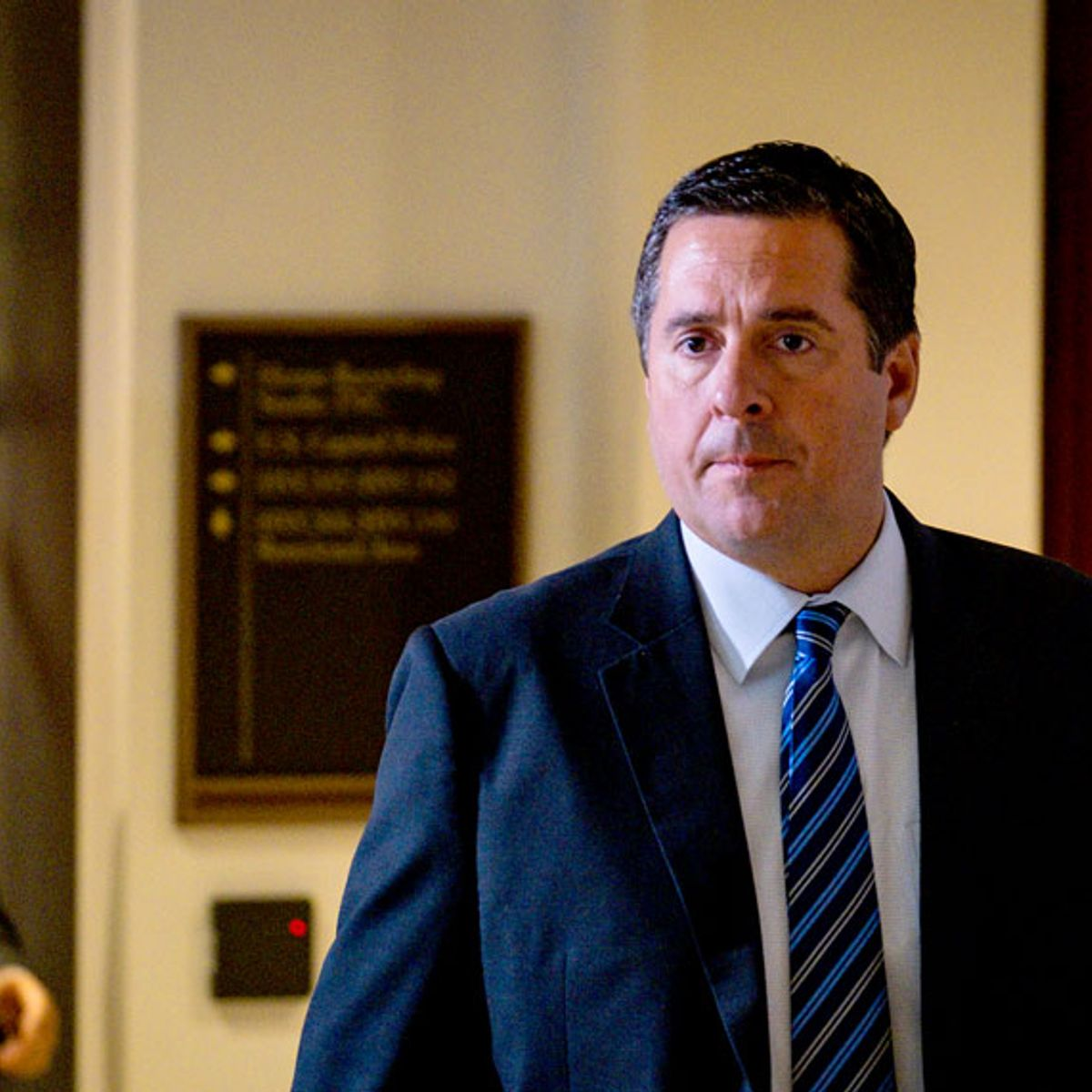 """Nunes claims he was """"stalked"""" after reporter asked questions about his role in Ukraine scheme"""