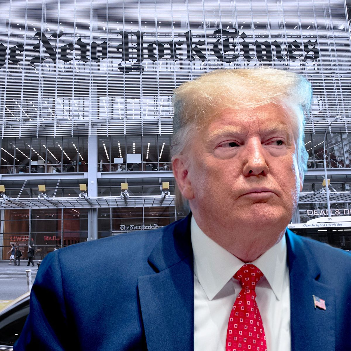 Fired from The New York Times over Trump