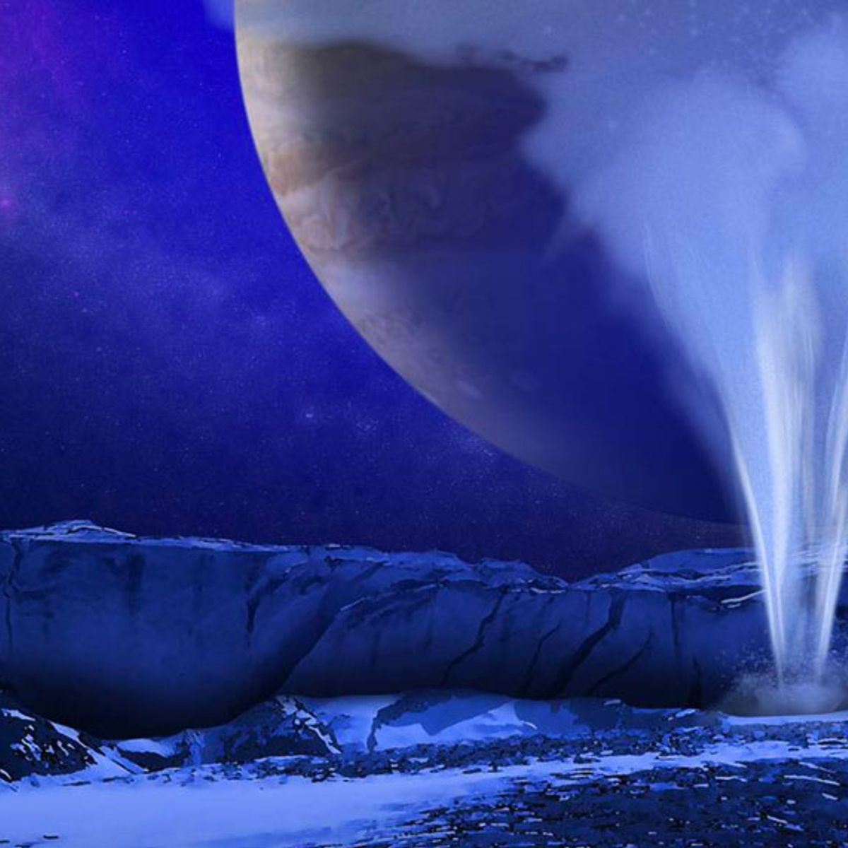 Jupiter's moon Europa is teeming with water