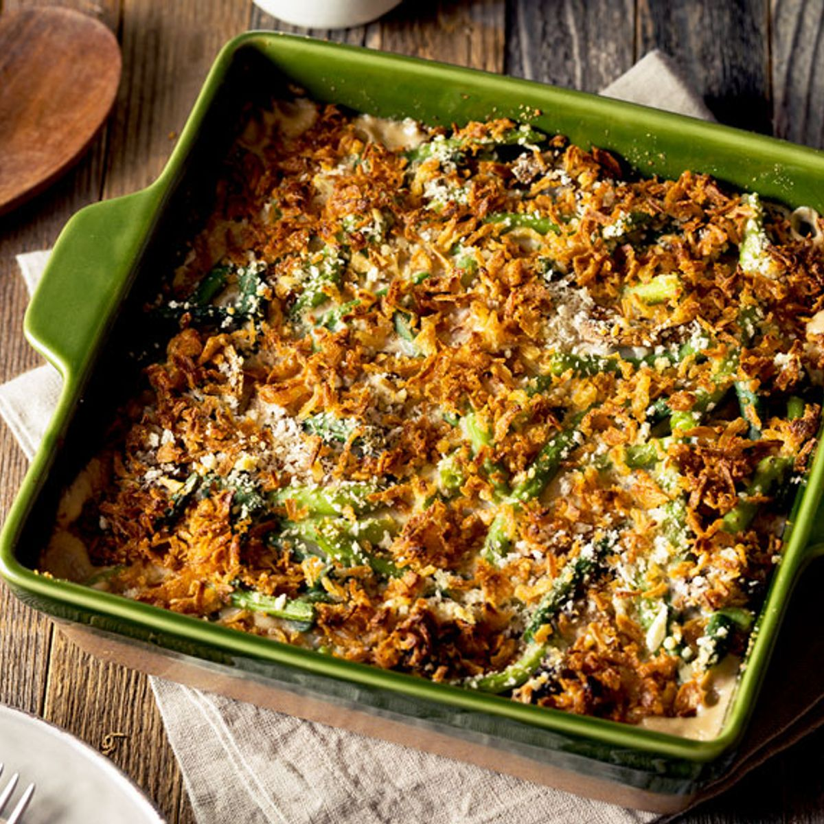 Eat this green bean casserole made with love or stop complaining about it
