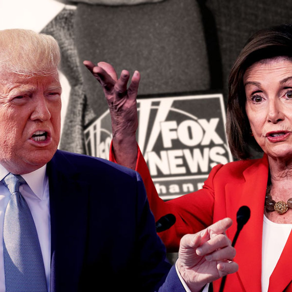 Trump assails Nancy Pelosi for impeachment quote — but it actually came from Fox News