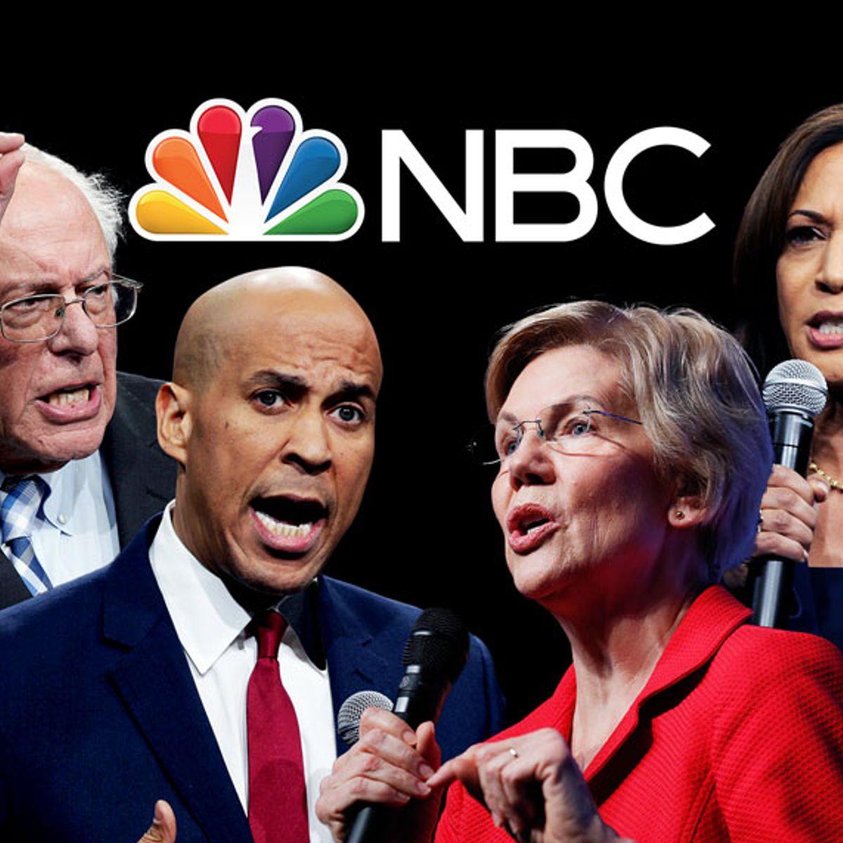 """Democratic candidates demand investigation into NBC's """"toxic culture"""" ahead of MSNBC debate"""