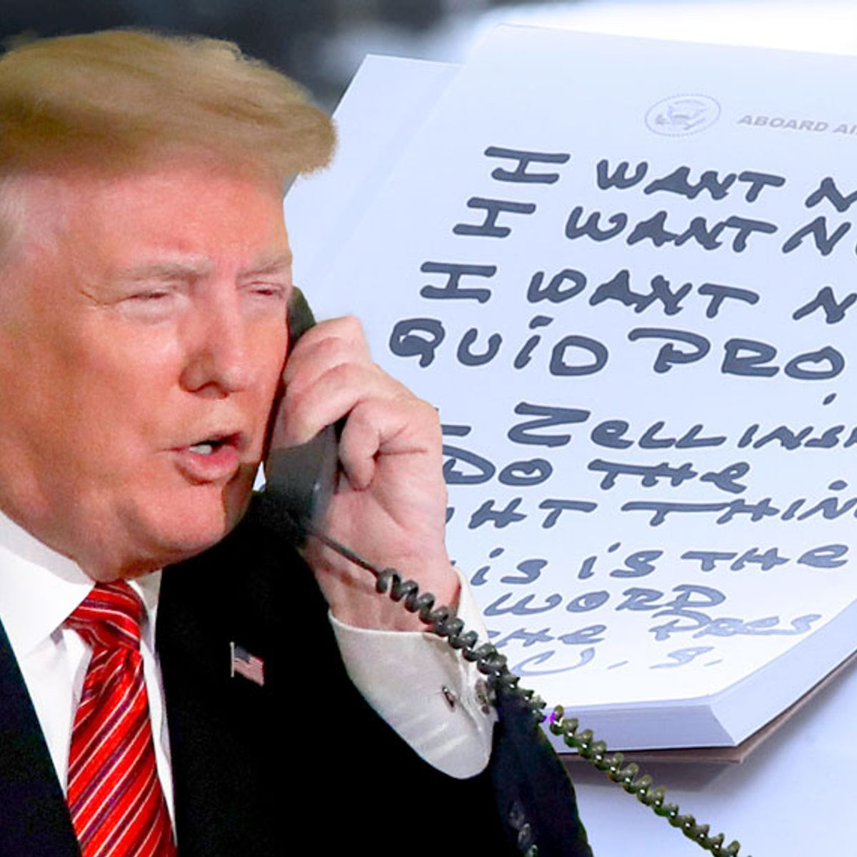 "White House can't find any record of Trump's ""no quid pro quo"" phone call to Gordon Sondland: report"