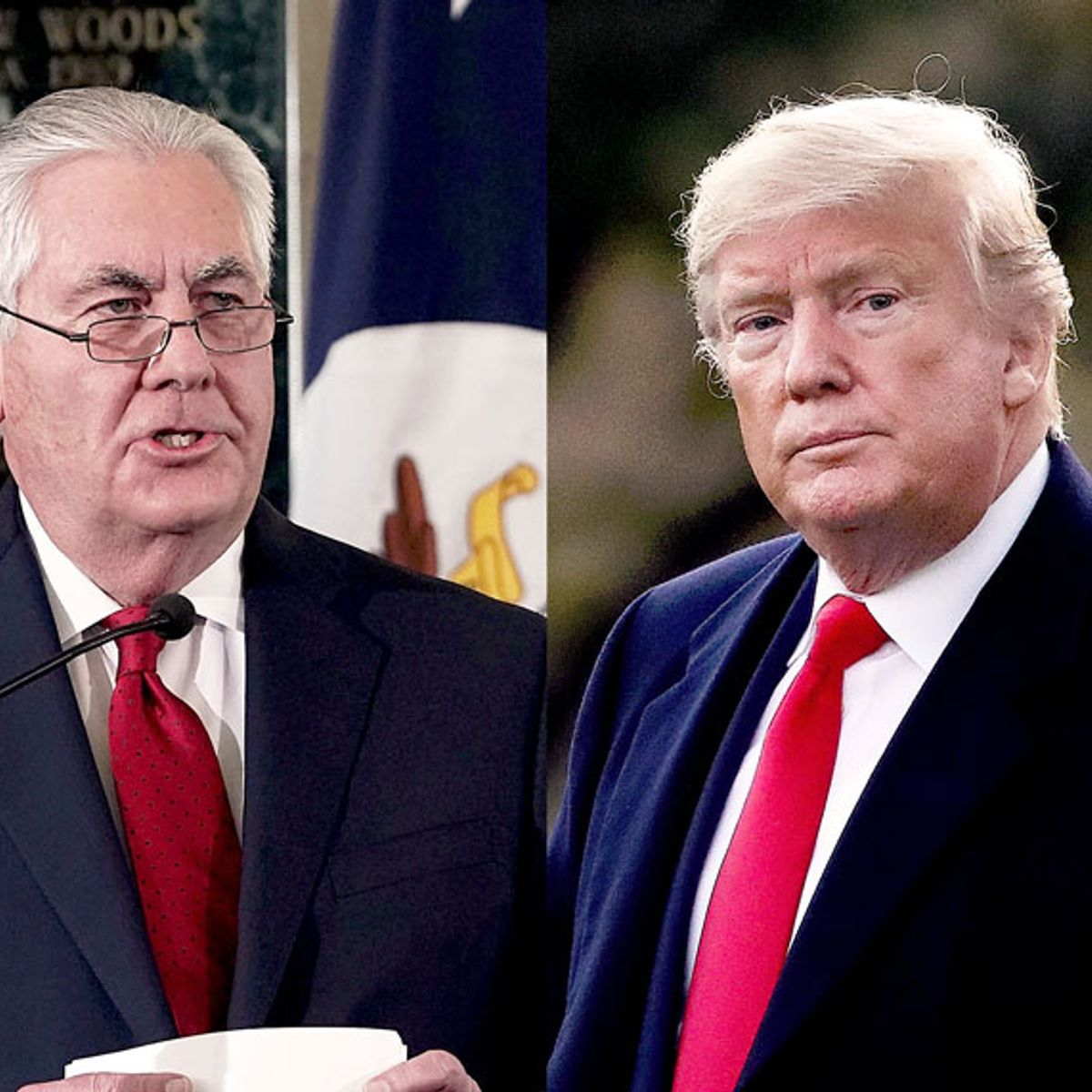 """Rex Tillerson says it is """"wrong"""" for a president to use foreign aid as collateral for personal gain"""