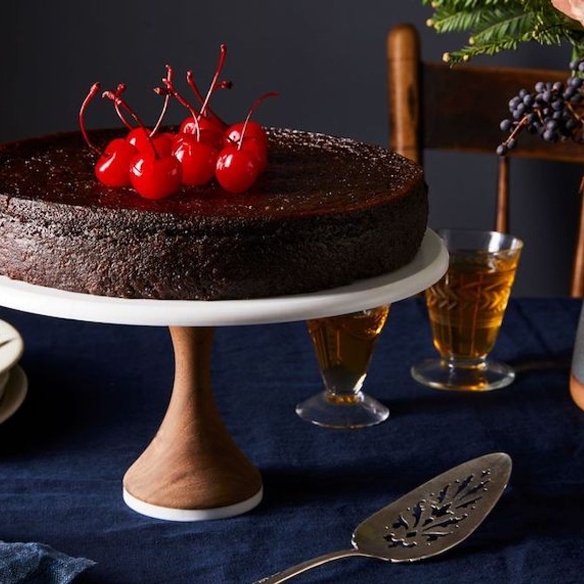 A spiced Jamaican black cake for Christmas, aged in rum & memory