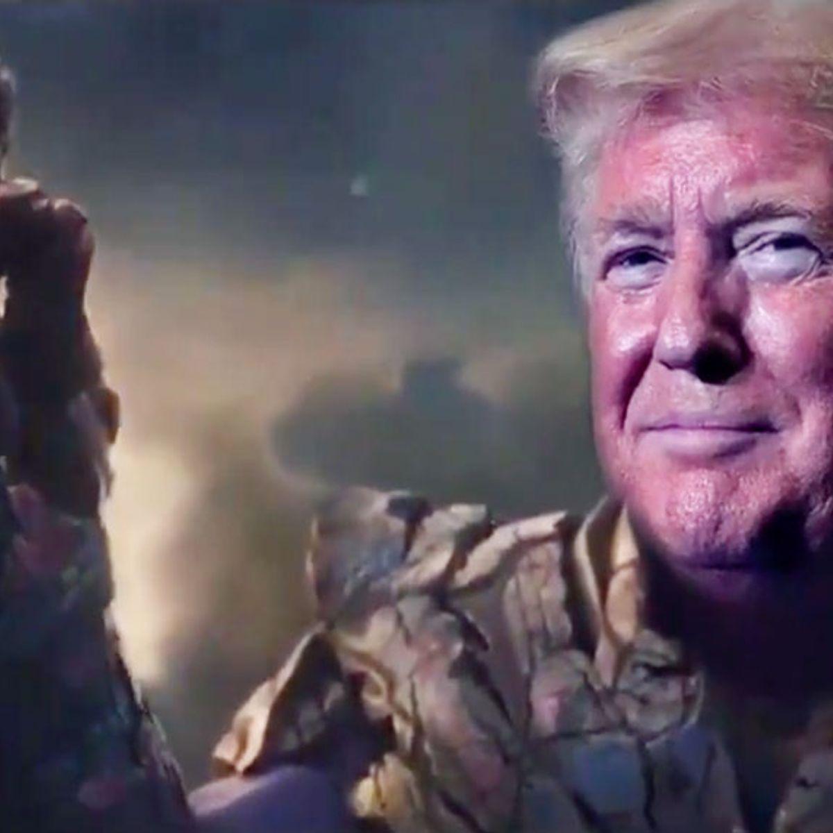 "Thanos creator calls Trump a ""pompous fool"" after campaign compares president to super-villain"