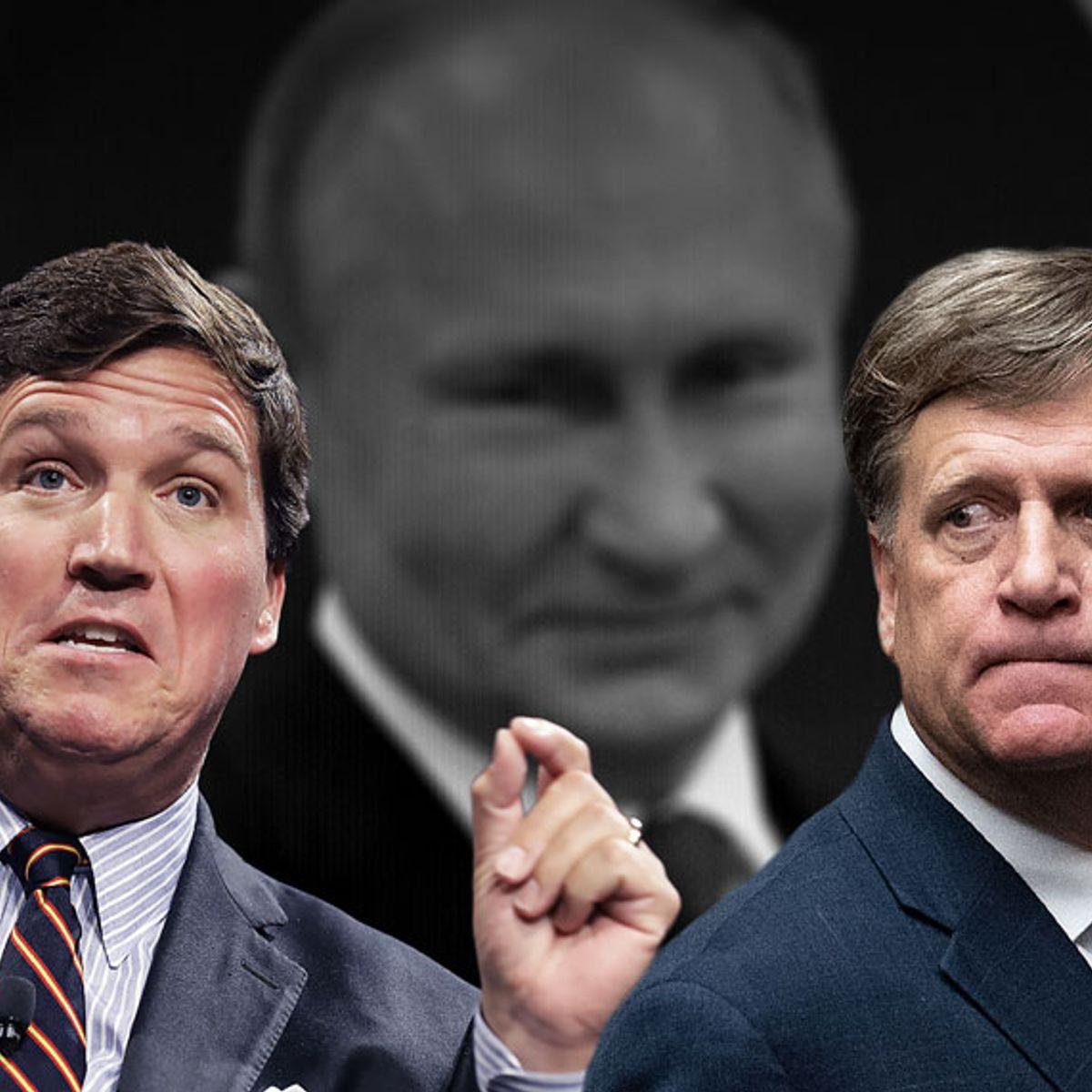 Barack Obama's ambassador to Russia calls out Fox News host Tucker Carlson for defending Putin