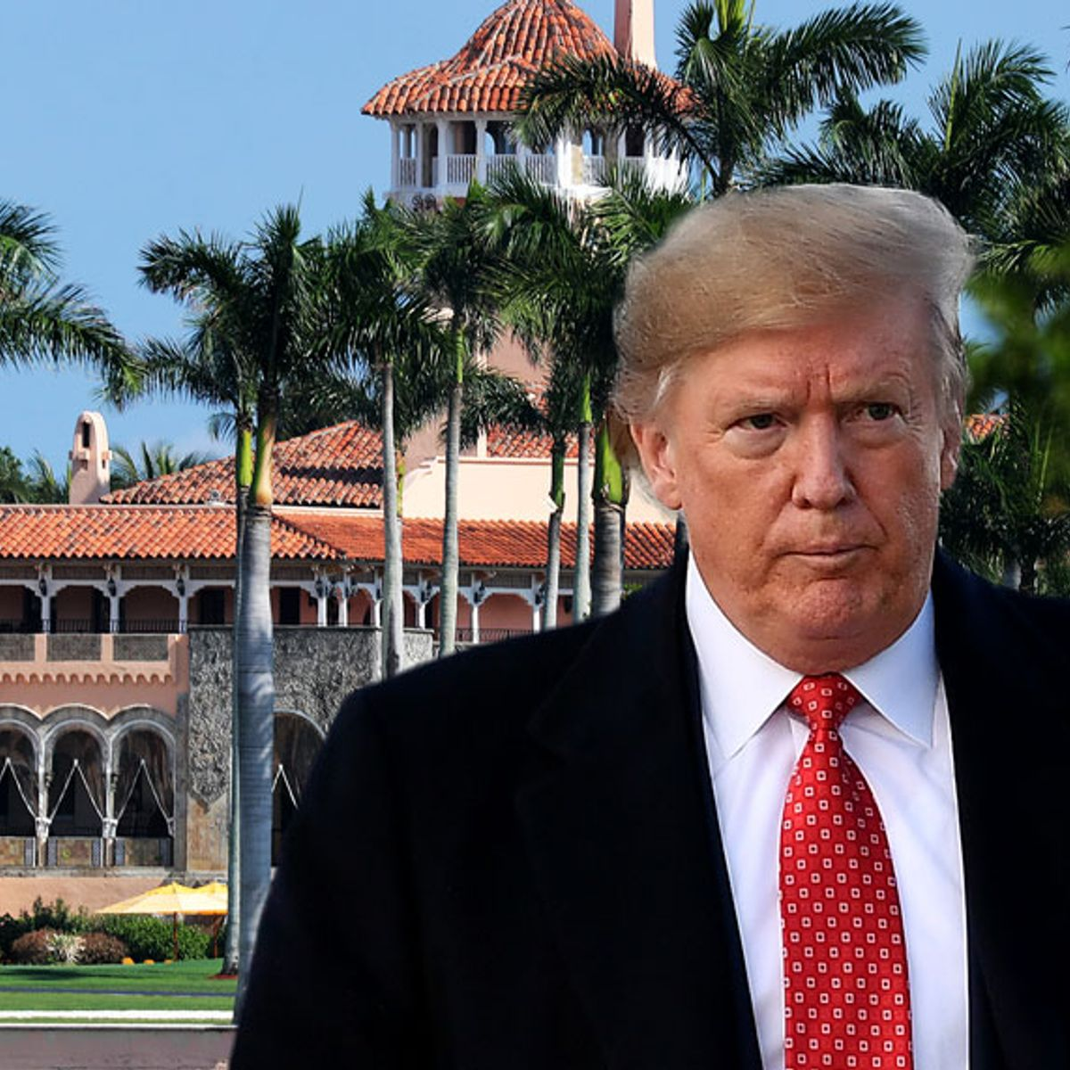 Guess who paid for Donald Trump's crazy-corrupt Mar-a-Lago Christmas party? We did