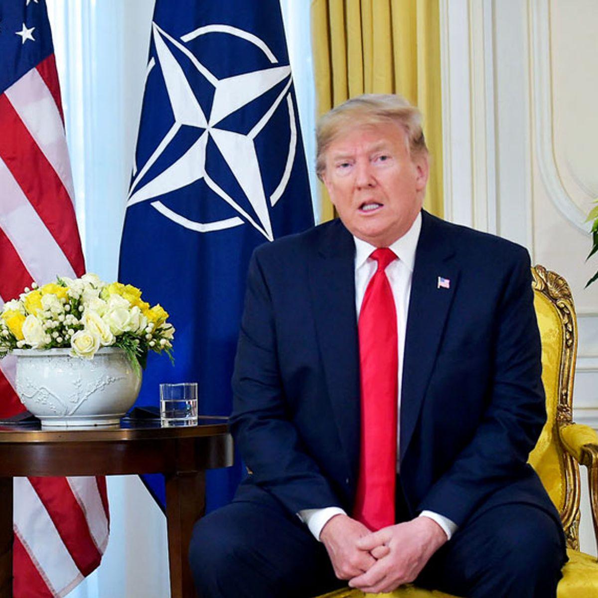 World mocks Trump at NATO summit: Impeachment has him coming unglued