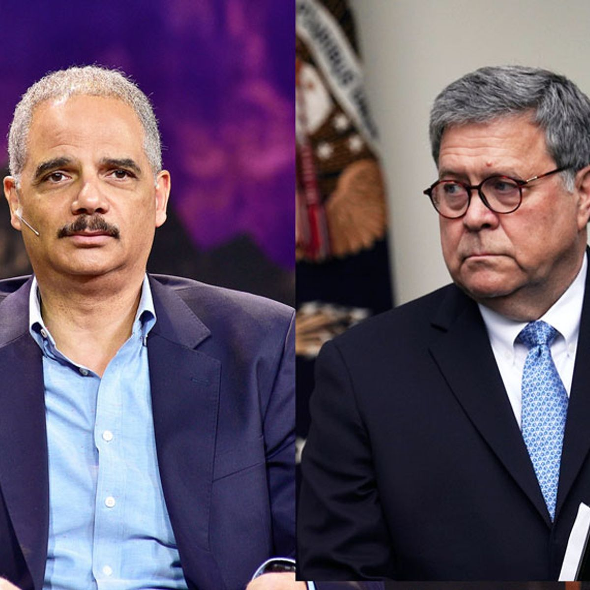 """Eric Holder unloads on William Barr's """"nakedly partisan"""" defense of Trump: """"He is unfit to lead"""""""