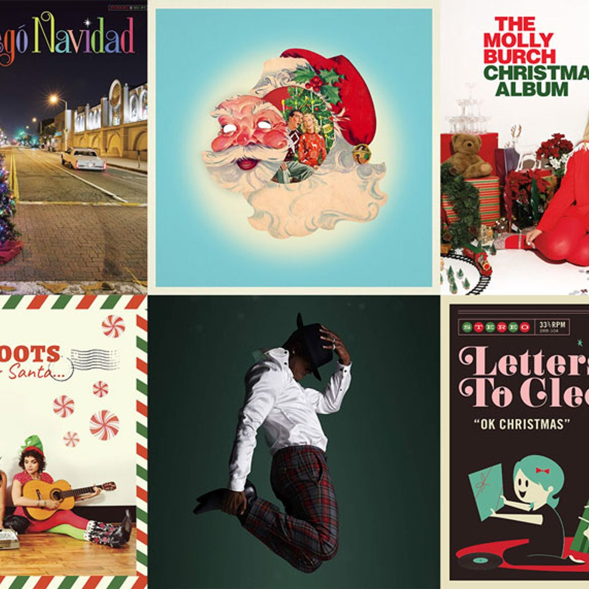 Here are 20 new holiday music releases to bring festive cheer to your ears