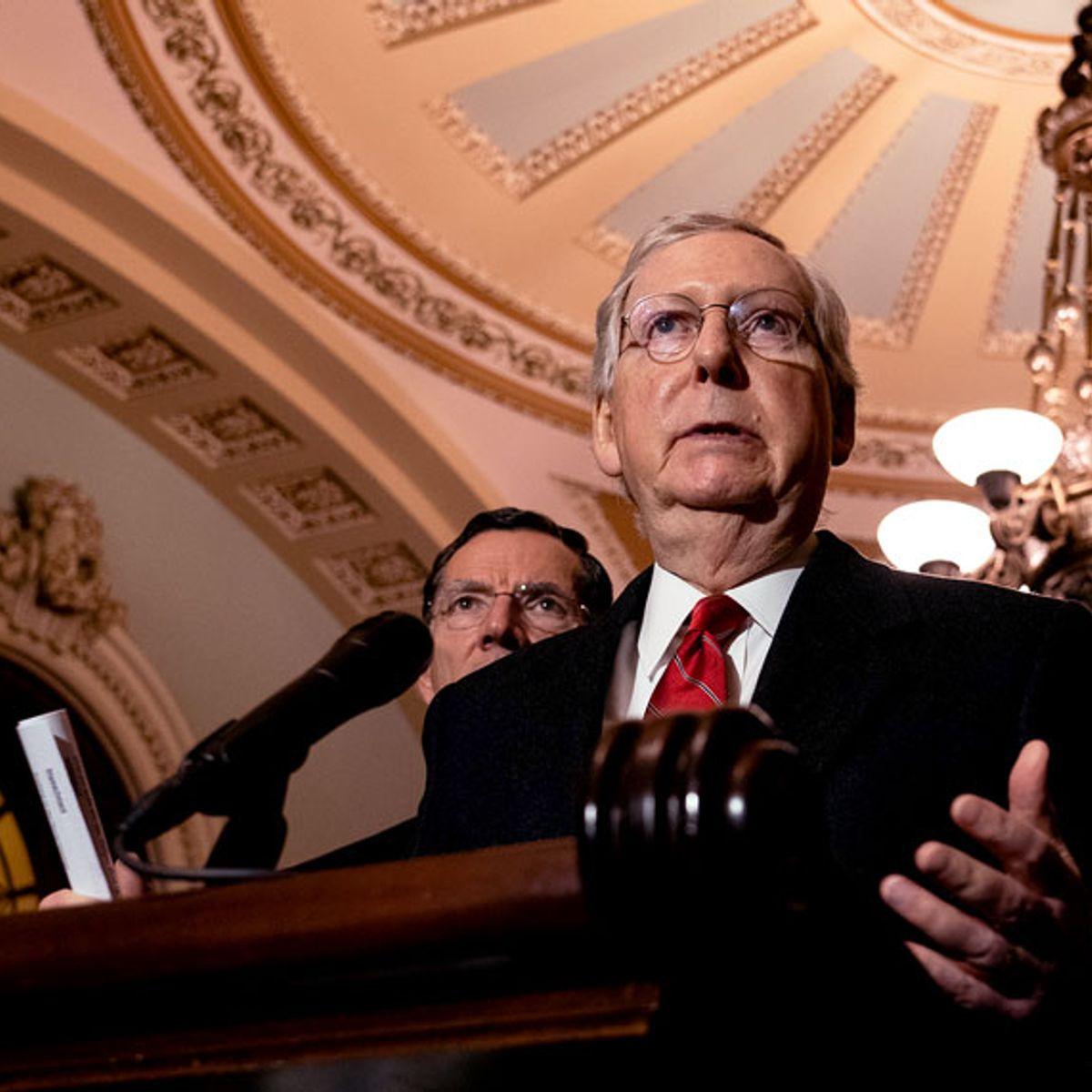 Republicans admit it: Senate impeachment trial of Trump will be a total sham